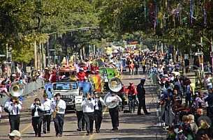 Floral Parade at Mardi Gras 2011