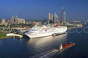Carnival Fantasy in Mobile Alabama