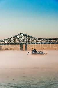 Fog on the Mississippi