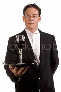 Server of wine