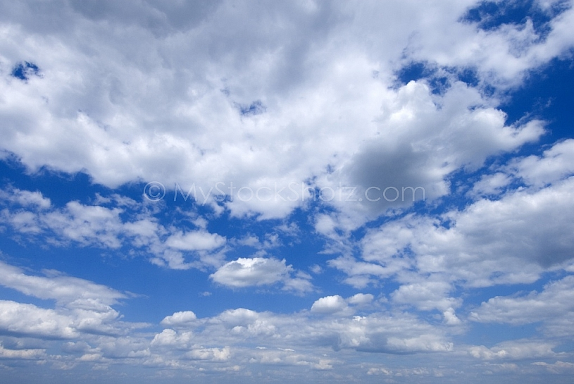Clouds at Mobile Bay