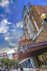 Saenger Theatre HDR exterior