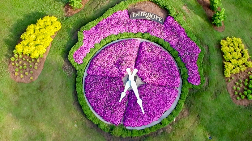 Floral Clock at Fairhope
