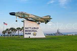 Battleship Park - Entrance Sign