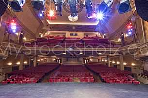 Saenger Theatre Stage
