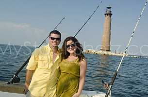 Fishing in the Gulf of Mexico - South of Dauphin Island