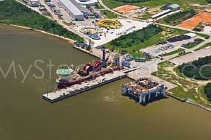 Technip facility at the Port of Theodore, Alabama
