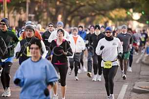 Marathon in Mobile, Alabama