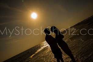 Lovers at Dauphin Island