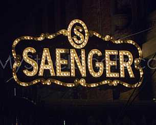 Saenger Theatre sign - Mobile