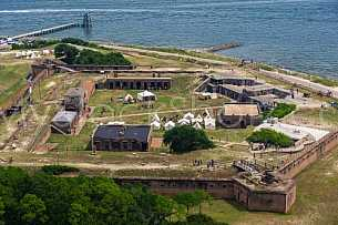 Fort Gaines - Dauphin Island, Alabama