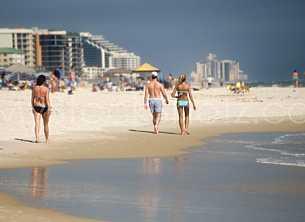 Beach Visitors