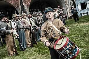 Fort Morgan Re-enactment