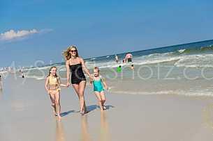 Beach Family