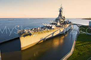 USS Alabama Battleship in Mobile, Alabama