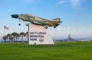 Battleship Park - Entrance Sign
