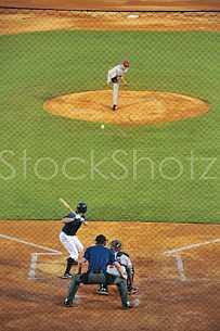 Mobile's Hank Aaron Stadium - home of the Mobile BayBears