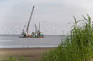 Dredging in Mobile Bay