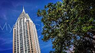 RSA Tower and Blue Sky