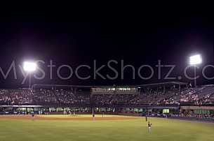 Mobile's Hank Aaron Stadium - home of the Mobile BayBears