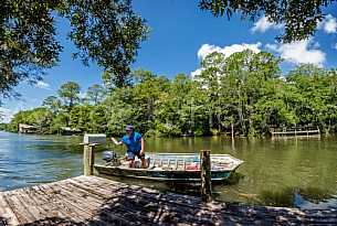Magnolia Springs River Mail Delivery