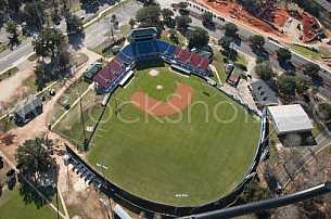 Hank Aaron Stadium - Mobile - Baybears - Aerial
