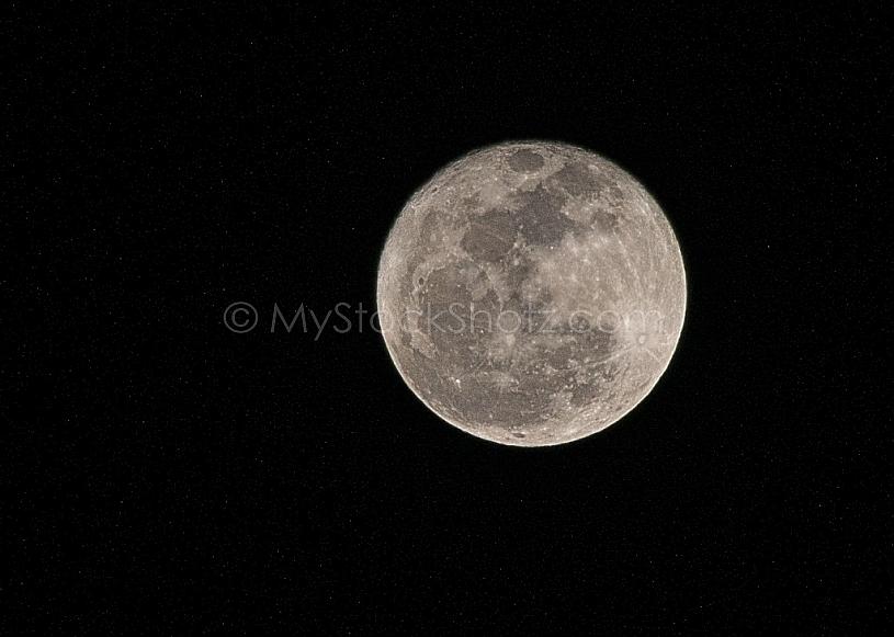 Full Moon over Mobile