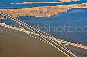 Bayway Crossing Causeway Aerial