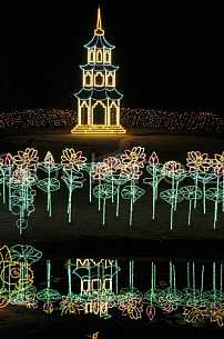 Christmas Lights at Bellingrath Gardens