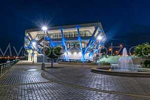 GulfQuest Maritime Museum - At Night